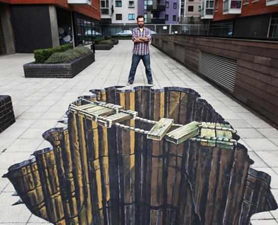 3d-street-paint-art bekerja menurut passion