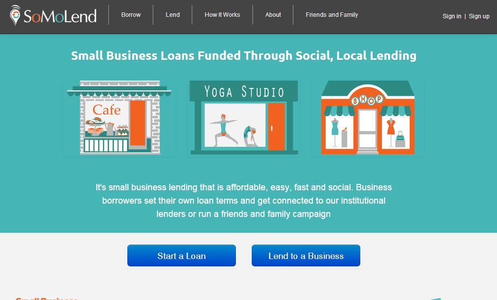 situs crowdfunding website SoMoLend