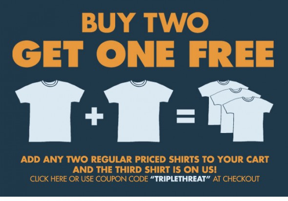 Busted-Tees-Buy-2-Get-1-Free-Sale-590x411 strategi buy more