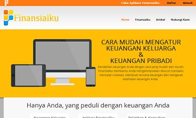 Finansialku Membantu Mengatur Keuangan Keluarga Pribadi bisnis online