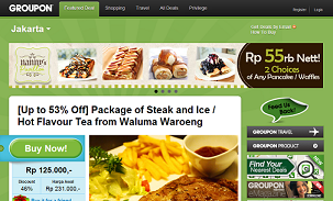 Groupon Indonesia Up to 53 Off Package of Steak and Ice Hot Flavour Tea from Waluma Waroeng Save up to 90 with your Groupon Deal in Indonesia Groupon.co.id bisnis online