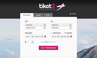 TIKET2 INDONESIA. Temukan penerbangan murah di Indonesia dan pesan tiket pesawat online. bisnis online