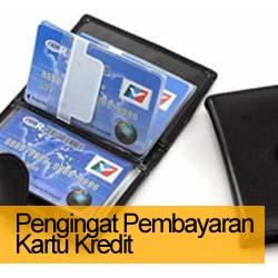 3 Alat Pengingat Pembayaran Kartu Kredit