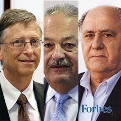 Daftar 10 Orang Terkaya versi Forbes 2014 finansialku