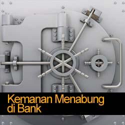 Keamanan Menabung di Bank