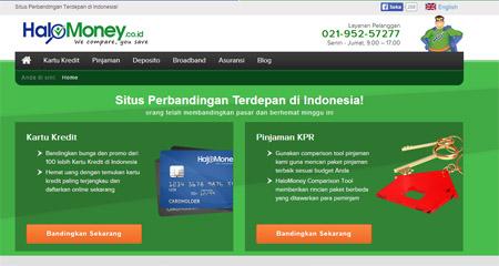 Finansialku - Website untuk Membandingkan Jasa Keuangan HaloMoney Indonesia
