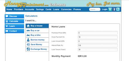 Finansialku - Website untuk Membandingkan Jasa Keuangan MoneyMiniMart