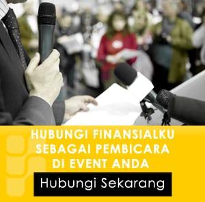 Speak at Your Event Seminar Pelatihan Arisan Perencanaan Keuangan Hubungi Finansialku sebagai Pembicara di Event Anda