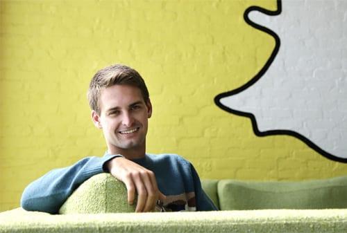 Evan Spiegel founder SnapChat - Orang Kaya di Abad Informasi - Perencana Keuangan Independen Finansialku