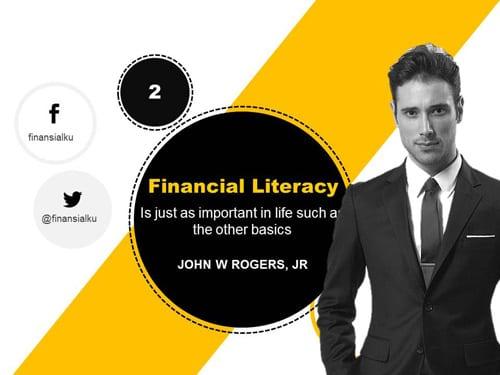 Pentingnya Kecerdasan keuangan (Financial Literacy) - Perencana Keuangan Independen Finansialku Web
