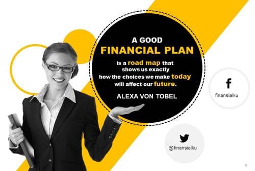 Rencana Keuangan, Roadmap Keuangan Masa Depanku Quote - Perencana Keuangan Independen Finansialku - Web