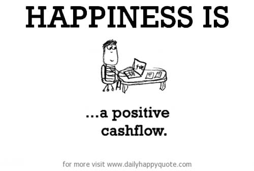 Happiness is a Positive Cashflow - Perencana Keuangan Independen Finansialku
