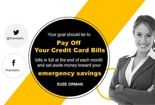 Lunasi Utang Kartu Kredit dan Siapkan Dana Darurat (Web)