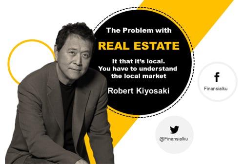 Kunci Sukses Investasi Real Estate menurut Kiyosaki (Website)
