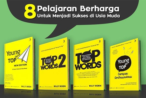 Kisah Sukses Billy Boen pendiri Young on Top - Buku YOT - Finansialku