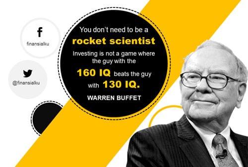 Rahasia Sukses Investasi ala Warren Buffet - Perencana Keuangan Independen Finansialku Website