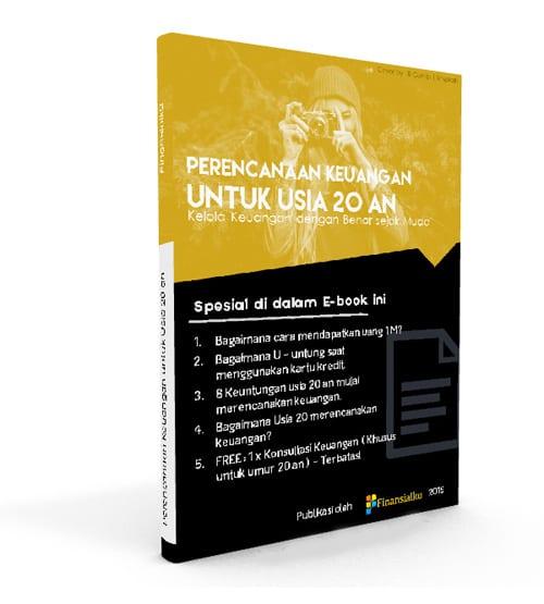 Ebook Keuangan untuk Usia 20 an Perencana Keuangan Independen Finansialku