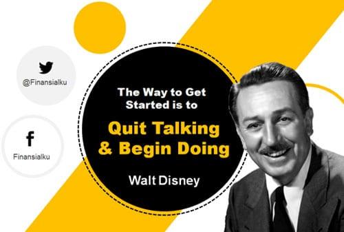 Rahasia Memulai Bisnis ala Walt Disney - Perencana Keuangan Independen Finansialku