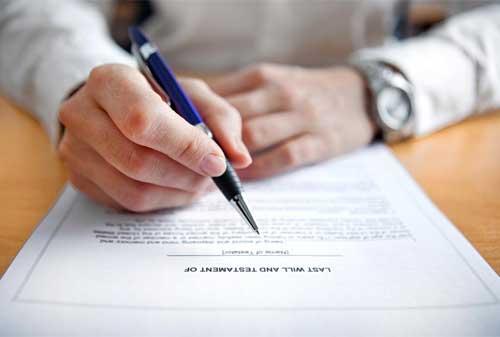 Papa Sudah Siapkan Surat Wasiat di Notaris Keluarga - Perencana Keuangan Independen Finansialku