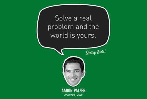 Kisah Sukses Aaron Patzer pendiri Mint dan Serial Entrepreneur Quote - Perencana Keuangan Independen Finansialku