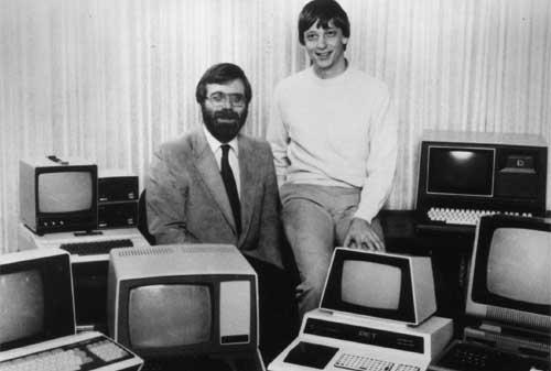 7 Pebisnis Sukses yang Memulai dari Garasi - Bill Gates dan Paul Allen – Microsoft - Finansialku