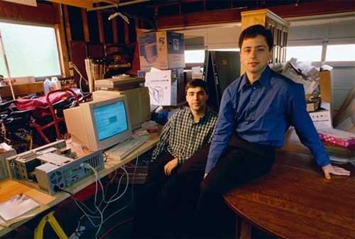 7 Pebisnis Sukses yang Memulai dari Garasi - Larry Page dan Sergey Brin – Google - Finansialku