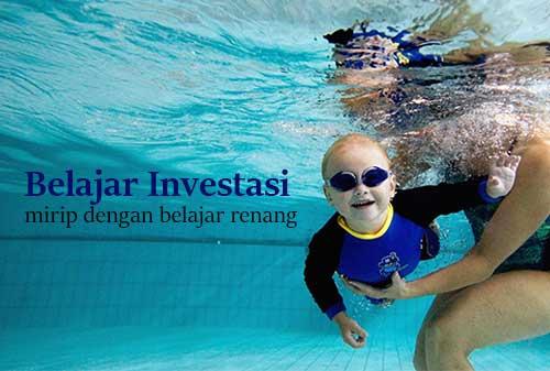 Belajar Investasi itu Mirip dengan Belajar Berenang - Perencana Keuangan Independen Finansialku