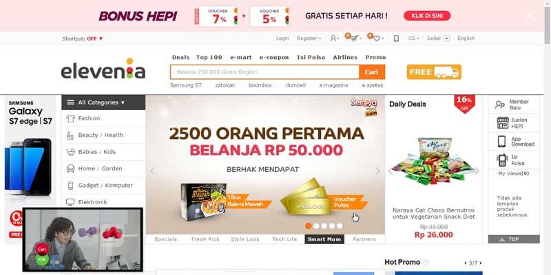 Elevenia - Bisnis Online