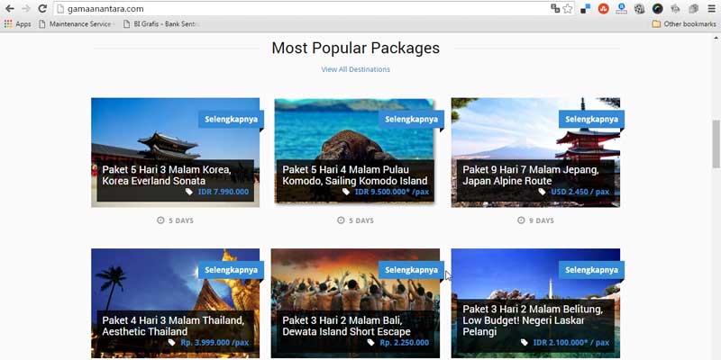 Gama Anantara - Bisnis Online