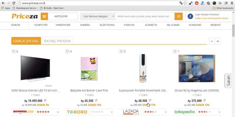 Priceza - Bisnis Online