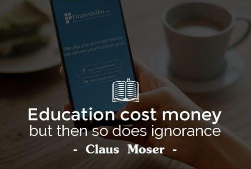 Pendidikan itu Mahal, Tidak Berpendidikan Jauh Lebih Mahal - Perencana Keuangan Independen Finansialku