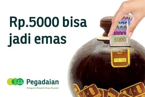 Tabungan Emas Bisa Kok Mulai Dari Rp 5000
