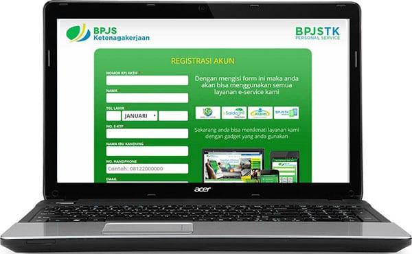 Cara Mengecek Saldo JHT BPJS Ketenagakerjaan E Saldo Mastered Registrasi Laptop- Perencana Keuangan Independen Finansialku