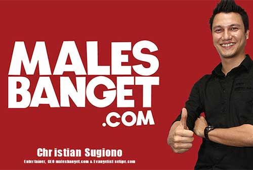 Kisah Sukses Christian Sugiono Pendiri MalesBanget.com 2 - Perencana Keuangan Independen Finansialku