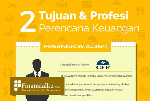 Infografis Tujuan Perencanaan Keuangan dan Profesi Perencana Keuangan Cover - Perencana Keuangan Independen Finansialku