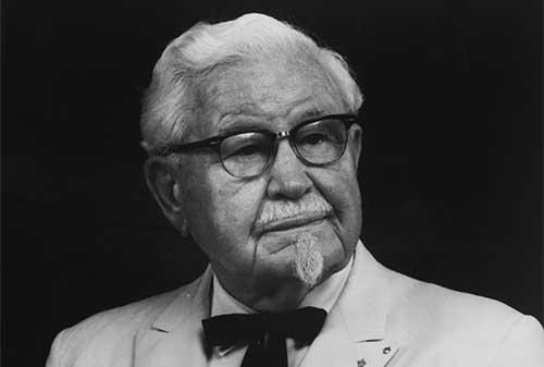Kisah Sukses Colonel Sanders Pendiri KFC - Perencana Keuangan Independen Finansialku