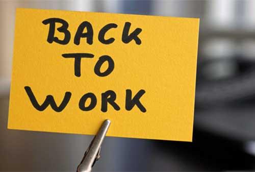 Saatnya Kembali Bekerja 10 Cara Tingkatkan Semangat Kerja - Perencana Keuangan Independen Finansialku