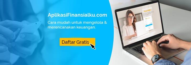 Aplikasi Finansialku Iklan 1 - Perencana Keuangan Independen Finansialku