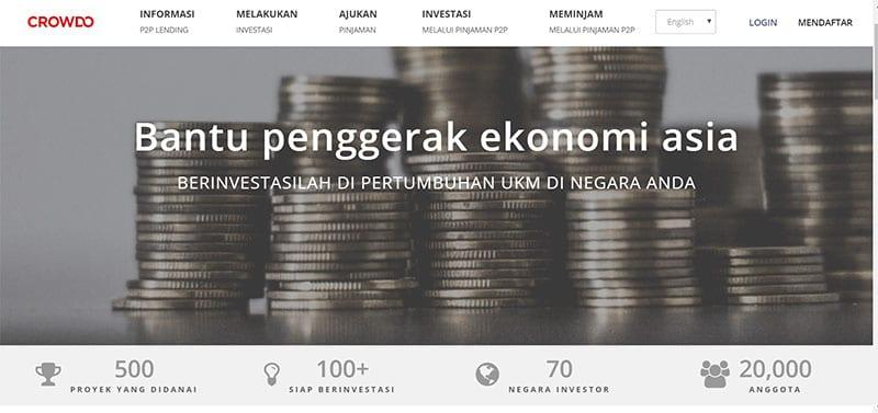 Ketahui Ini! Sebelum Investasi di Website Peer to Peer Lending Indonesia - Crowdo - Finansialku