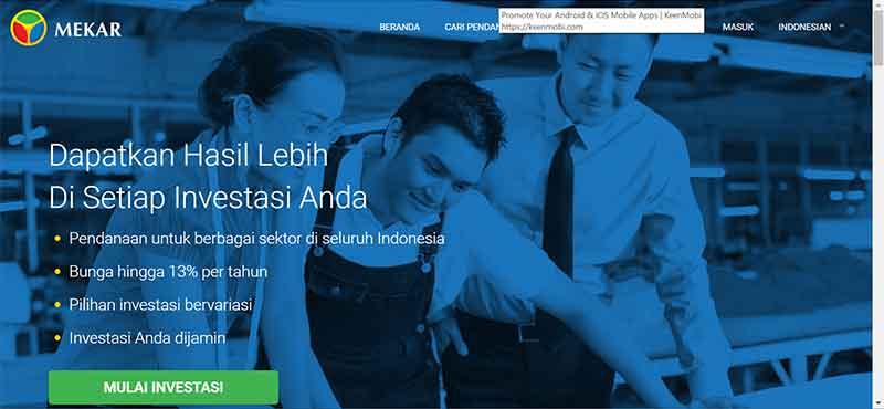 Ketahui Ini! Sebelum Investasi di Website Peer to Peer Lending Indonesia - Mekar.id - Finansialku