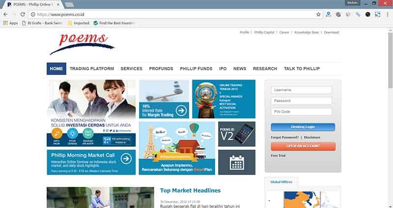 Investasi Online di Indonesia