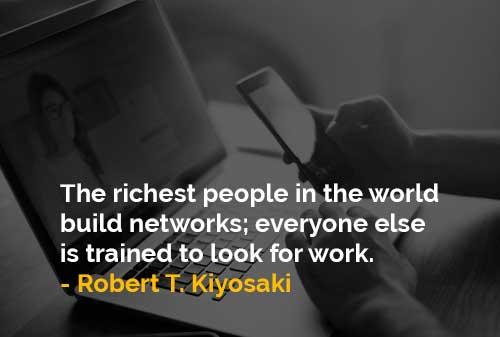 Orang-orang Terkaya di Dunia Membangun Jaringan
