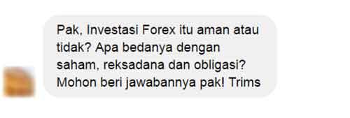 Investasi saham atau forex