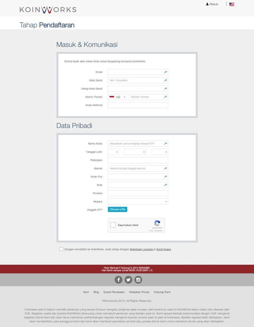 koinworks-pendaftaran