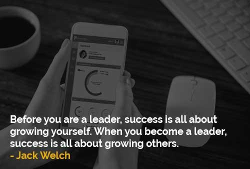 Menurut Seorang Pemimpin, Sukses itu Menumbuhkan Orang Lain - Finansialku