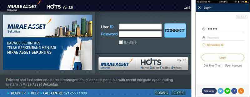 Aplikasi HOT Mirae Asset Sekuritas