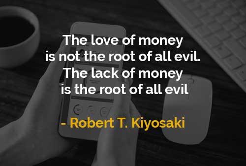 Cinta Uang dan Kekurangan Uang (Robert T. Kiyosaki) - Finansialku