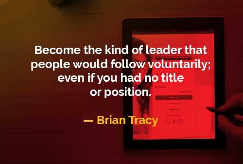 Jadilah Seorang Pemimpin yang Diikuti Orang - Finansialku