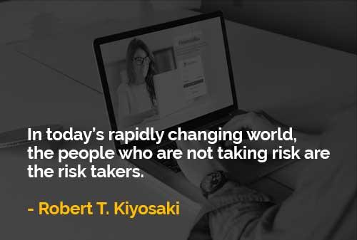Orang-orang yang Tidak Mengambil Risiko adalah Pengambil Risiko - Finansialku