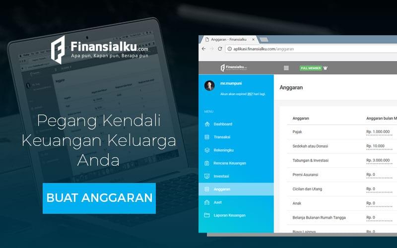 Iklan Aplikasi Finansialku - Anggaran
